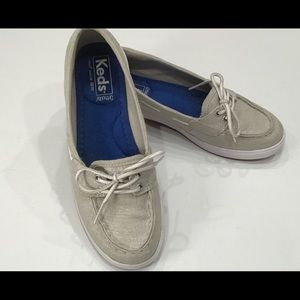 Keds Glimmer Boat Shoes  Size 6.5